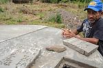 Comunidade de Jerusalém, município de Rubim na região do baixo Jequitinhonha, Norte de Minas Gerais. Nessa região é possível encontrar três tipos de biomas: caatinga, cerrado e mata atlântica. A ASA Brasil, Articulação no Semiárido Brasileiro, tem implementado em diversas comunidades no Norte de Minas o Programa Uma Terra e Duas Águas (P1+2) e o Programa Um Milhão de Cisternas (P1MC) que tem como objetivo viabilizar a captação e armazenamento de água de chuva nessas comunidades para consumo humano, criação de animais e produção de alimentos. Entre os parceiros para implementação dos projetos tem destaque na região a Cáritas Diocesana de Almenara. Miguel Batista De Oliveira.