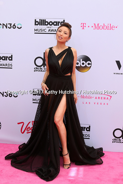LAS VEGAS - MAY 21:  Jeannie Mai at the 2017 Billboard Music Awards - Arrivals at the T-Mobile Arena on May 21, 2017 in Las Vegas, NV