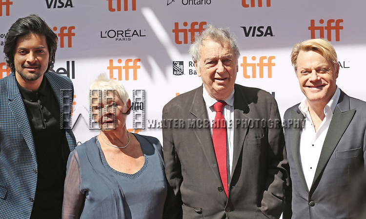 Ali Fazal, Judi Dench, Michael Gambon and Eddie Izzard attends the 'Victoria & Abdul' premiere during the 2017 Toronto International Film Festival at Princess of Wales Theatre on September 10, 2017 in Toronto, Canada.