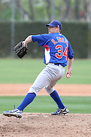 Bryce Shafer #34 of the Chicago Cubs participates in intrasquad spring training games at the Cubs complex on March 21, 2011  in Mesa, Arizona. .Photo by:  Bill Mitchell/Four Seam Images.