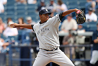 April 3, 2010:  Pitcher Ivan Nova (39) of the New York Yankees playing in the annual Futures Game during Spring Training at Legends Field in Tampa, Florida.  Photo By Mike Janes/Four Seam Images