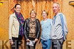 At the Autumn Bites Tralee Parnells Fundraiser Cookery Demonstration with Chef Mark Doe  at the Meadowlands Hotel on Friday were l-r  Denise Kelleher, Elaine Cahill, Linda O'Brien and Gerard O'Brien