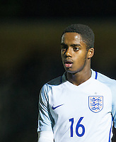 Ryan Sessegnon (Fulham) of England U19 during the International friendly match between England U19 and Bulgaria U19 at Adams Park, High Wycombe, England on 10 October 2016. Photo by Andy Rowland.