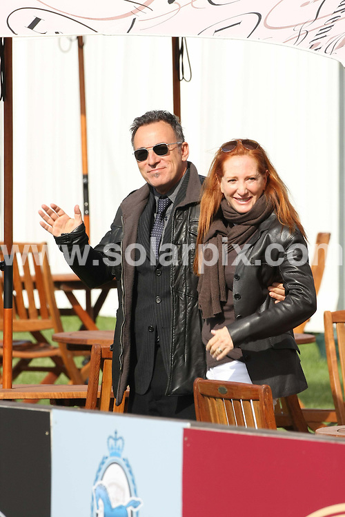 **ALL ROUND PICTURES FROM SOLARPIX.COM**                                             **WORLDWIDE SYNDICATION RIGHTS**                                                                                  Caption: Bruce Springsteen and Patti Scialfa at day 3 of the Windsor Horse trials show in Windsor UK. 13 May 2011                                                                              This pic: Bruce Springsteen and Patti Scialfa                                                                                             JOB REF: 13336 EBR       DATE: 13_05_2011                                                        **MUST CREDIT SOLARPIX.COM OR DOUBLE FEE WILL BE CHARGED**                                                                      **MUST AGREE FEE BEFORE ONLINE USAGE**                               **CALL US ON: +34 952 811 768 or LOW RATE FROM UK 0844 617 7637**