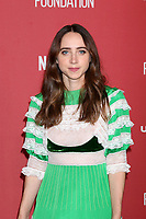 LOS ANGELES - NOV 9:  Zoe Kazan at the SAG-AFTRA Foundation's Patron of the Artists Awards 2017 at Wallis Annenberg Center for the Performing Arts on November 9, 2017 in Beverly Hills, CA