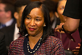 Stephanie Dawkins Davis, United States President Donald J. Trump's first African American woman nominee for district judge, appears before the Senate Judiciary Committee for her confirmation hearing on Capitol Hill in Washington D.C., U.S. on May 22, 2019.<br /> <br /> Credit: Stefani Reynolds / CNP