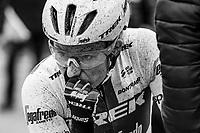 Lotta Lepistö (FIN/Trek-Segafredo) after finishing 2nd<br /> <br /> Omloop van het Hageland 2019<br /> 133km from Tienen to Tielt - Winge (BEL)<br /> <br /> ©JoJo Harper for Kramon