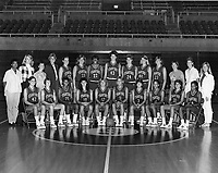 1986: Women's Basketball Team.<br />