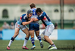 French Development Team vs Taikoo Place Scottish Exile during the 2015 GFI HKFC Tens at the Hong Kong Football Club on 26 March 2015 in Hong Kong, China. Photo by Xaume Olleros / Power Sport Images
