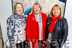 Monica Griffin (Ardfert), Margaret Diggin (Causeway) and Catherine Quill (Tralee) attending the Zyber Theatre production of The Field in Siamsa Tire on Thursday.