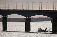Europe/France/Poitou-Charentes/17/Charente-Maritime/Ile de Ré: Le pont de l'Ile de Ré