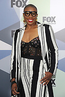 NEW YORK, NY - MAY 14: Aisha Hinds at the 2018 Fox Network Upfront at Wollman Rink, Central Park on May 14, 2018 in New York City.  <br /> CAP/MPI/PAL<br /> &copy;PAL/MPI/Capital Pictures