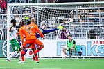 Stockholm 2014-05-24 Fotboll Superettan Hammarby IF - Varbergs BoIS FC  :  <br /> Hammarbys Lars Mendonca Fuhre g&ouml;r 1-0 <br /> (Foto: Kenta J&ouml;nsson) Nyckelord:  Superettan Tele2 Arena HIF Bajen Varberg BoIS jubel gl&auml;dje lycka glad happy