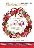 John, CHRISTMAS SYMBOLS, WEIHNACHTEN SYMBOLE, NAVIDAD SÍMBOLOS, paintings+++++,GBHSSXC50-1428B,#xx# ,wreath