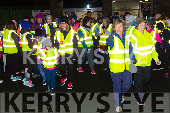 Ready for road at the SuperValu Rock St Operation Transformation on Thursday evening last.