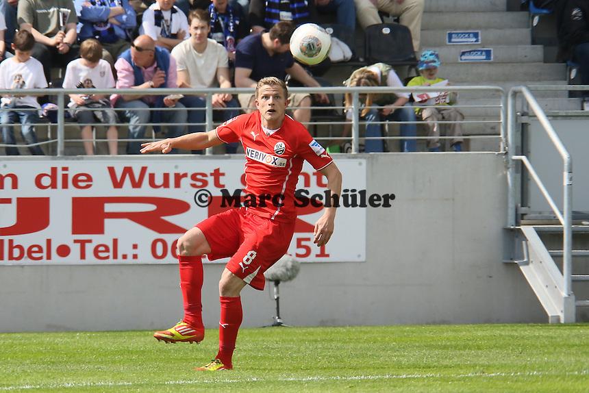 Nicky Adler (SVS) - FSV Frankfurt vs. SV Sandhausen, Frankfurter Volksbank Stadion