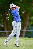 Alex Noren (SWE) watches his tee shot on 5 during Friday's round 2 of the PGA Championship at the Quail Hollow Club in Charlotte, North Carolina. 8/11/2017.<br /> Picture: Golffile | Ken Murray<br /> <br /> <br /> All photo usage must carry mandatory copyright credit (&copy; Golffile | Ken Murray)