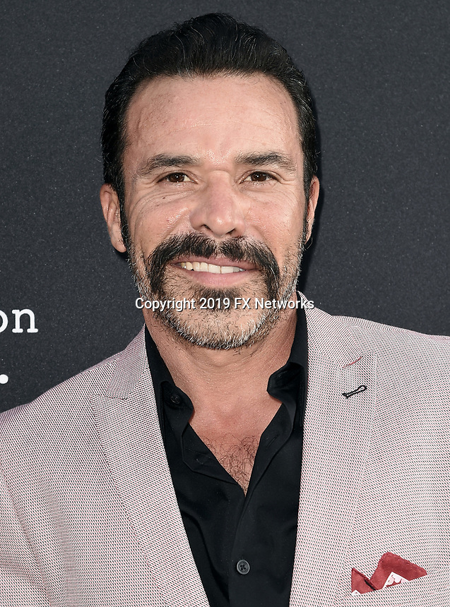 "LOS ANGELES - AUGUST 27: Michael Irby attends the season two red carpet premiere of FX's ""Mayans M.C"" at the ArcLight Dome on August 27, 2019 in Los Angeles, California. (Photo by Scott Kirkland/FX/PictureGroup)"
