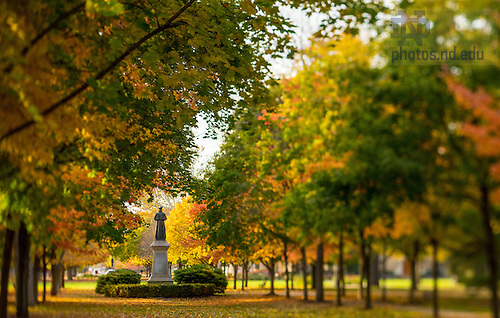 Oct.27, 2014; Main Quad (Photo by Matt Cashore/University of Notre Dame)