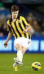 Nederland, Arnhem, 16 december  2012.Eredivisie.Seizoen 2012/2013.Vitesse-RKC.Marco van Ginkel van Vitesse in actie met de bal