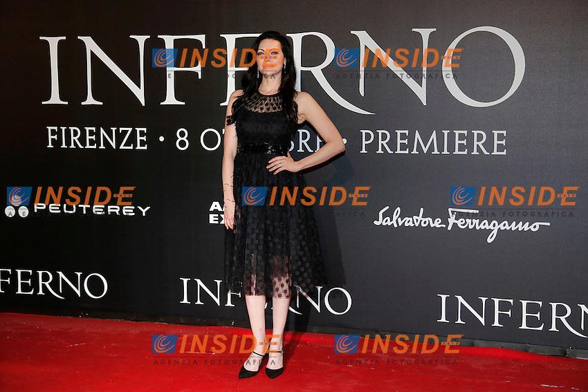 Laura Prepon<br /> Firenze 08-10-2016. 'Inferno' Anteprima Mondiale.<br /> Florence 8th October 2016. 'Inferno' World Premiere.<br /> Foto Samantha Zucchi Insidefoto