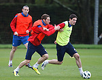 Kirk Broadfoot and Kyle Lafferty