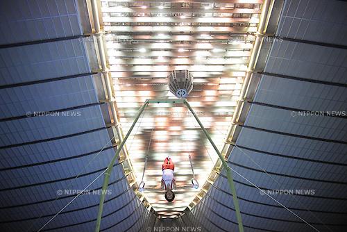 Kenya Kobayashi (JPN), June 11th, 2011 - Artistic Gymnastics : The 50th NHK Cup, Men's Individual 1st Day at Yoyogi 1st Gymnasium, Tokyo, Japan. (Photo by Daiju Kitamura/AFLO SPORT) [1045]