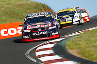 2016 Supercheap Auto Bathurst 1000. Round 2 of the Pirtek Enduro Cup. #97. Shane van Gisbergen (NZL) Alexandre Premat (FRA). Red Bull Racing Australia. Holden Commodore VF.