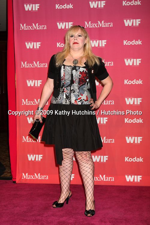 Kristen Vangsness arriving at the Women in Film Annual Crystal & Lucy Awards at the Century Plaza Hotel in Century City , CA on June 12, 2009.  .©2009 Kathy Hutchins / Hutchins Photo