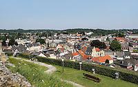 Valkenburg- Foto van het centrum,  gemaakt vanaf de Kasteel-Ruine