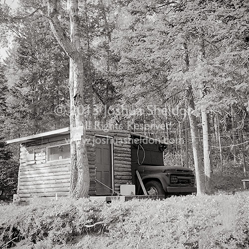Adirondack mobile home-front view<br />