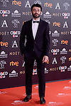 Rodrigo Sorogoyen attends to the Red Carpet of the Goya Awards 2017 at Madrid Marriott Auditorium Hotel in Madrid, Spain. February 04, 2017. (ALTERPHOTOS/BorjaB.Hojas)