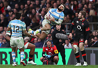 Argentina's Santiago Gonzalez Iglesias <br /> <br /> Photographer Rachel Holborn/CameraSport<br /> <br /> International Rugby Union Friendly - Old Mutual Wealth Series Autumn Internationals 2017 - England v Argentina - Saturday 11th November 2017 - Twickenham Stadium - London<br /> <br /> World Copyright &copy; 2017 CameraSport. All rights reserved. 43 Linden Ave. Countesthorpe. Leicester. England. LE8 5PG - Tel: +44 (0) 116 277 4147 - admin@camerasport.com - www.camerasport.com