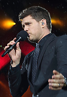 JUL 13 Michael Buble performs live at British Summertime Hyde Park