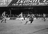 03/09/1980 Blackpool v Everton  League Cup 2nd Round 2nd Leg .Colin Morris scores past Jim McDonagh ....© Phill Heywood.