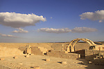 Isarael, Negev, ruins of Avdat, built in the 1st century by the Nabateans. A world Heritage Site as part of the Spice Route, the Roman Villa