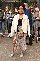 Yara Shahidi<br /> arrives for the Topshop Unique AW17 show as part of London Fashion Week AW17 at Tate Modern, London.<br /> <br /> <br /> &copy;Ash Knotek  D3232  19/02/2017