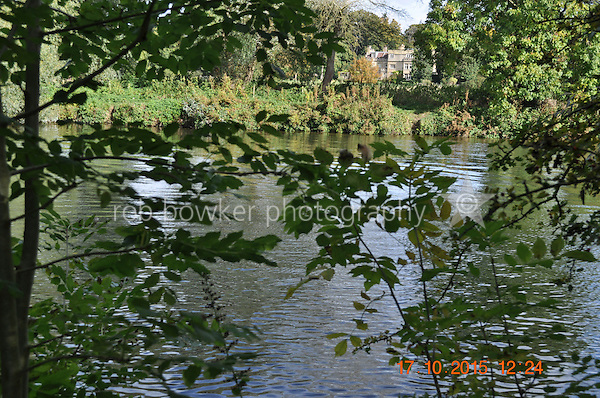 RIVERSIDE AMENITY LAND AT STREATLEY. TITLE NO: BK381630<br /> View across river from the bank.