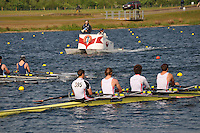 Wallingford Rowing Club Regatta 2011. Dorney..(J18A.4x-).Leander (395)