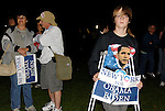 Obama Rally at Eisenhower Park during Presidential Debate Barak Obama participating in down the road at Hofstra University, on October 15, 2008, at Garden City, New York, USA.