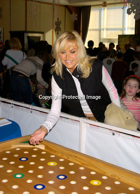 One Life to Live's Catherine Hickland..at the Cooley's Anemia Foundation's  1st Annual Winter Wonderland Carnival on Februay 8, 2004 at Pier Sixty at the Chelsea ..Piers. Photo by Robin Platzer, Twin Images