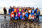 The large group who were cleaning Banna Beach with their pre Christmas Clean up on Sunday.