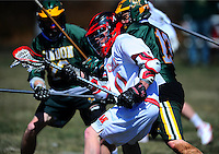 NEW LONDON, Conn. - Junior Adam Grillo scored the game-winning goal just 1:56 into overtime to give the Mitchell College men's lacrosse team an 8-7 victory over Lyndon State College on Saturday afternoon.