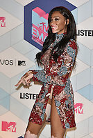 Winnie Harlow<br /> 2016 MTV EMAs in Ahoy Arena, Rotterdam, The Netherlands on November 06, 2016.<br /> CAP/PL<br /> &copy;Phil Loftus/Capital Pictures /MediaPunch ***NORTH AND SOUTH AMERICAS ONLY***