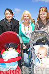 8772-8777.Enjoying the day out at the the Grand Opening of Scoil Re?alt na Maidine's new all weather pitch on Saturday afternoon were babies Callum Hennessy and Adam Heffernan with Karen Hennessy, Leah Dore and Norah Lynch..