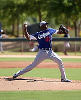 Abdiel Velasquez - 2014 AIL Dodgers (Bill Mitchell)