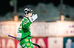 Stockholm 2015-01-16 Bandy Elitserien Hammarby IF - IFK Kung&auml;lv :  <br /> Hammarbys Adam Gilljam jublar efter sitt 5-2 m&aring;l under matchen mellan Hammarby IF och IFK Kung&auml;lv <br /> (Foto: Kenta J&ouml;nsson) Nyckelord:  Elitserien Bandy Zinkensdamms IP Zinkensdamm Zinken Hammarby Bajen HIF IFK Kung&auml;lv jubel gl&auml;dje lycka glad happy
