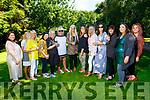 Sandra Breen (standing centre) celebrating her 50th birthday on Saturday in Chutehall.<br /> L to r: Joan Ahern, Vera Crowe, Margaret McIntire, Abina Linnane, Tess Breen, Sheilanne O'Rahilly, Sandra Breen, Kay Hurley Breen, Caroline Rogers, Deirdre Murphy, Lorraine McIntire, Edel Kelly and Shauna Hurley