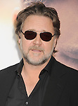 HOLLYWOOD, CA - APRIL 16: Actor Russell Crowe arrives at the Los Angeles premiere of 'The Water Diviner' at the TCL Chinese Theatre IMAX on April 16, 2015 in Hollywood, California.