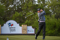 J.B. Holmes (USA) watches his tee shot on 15 during Round 1 of the Valero Texas Open, AT&amp;T Oaks Course, TPC San Antonio, San Antonio, Texas, USA. 4/19/2018.<br /> Picture: Golffile | Ken Murray<br /> <br /> <br /> All photo usage must carry mandatory copyright credit (&copy; Golffile | Ken Murray)